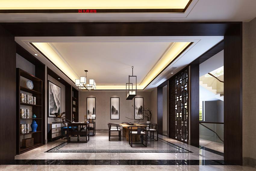 现代中式装修风格设计说明及要点